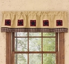 My Country Home Lined Patch Valance
