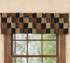 Prairie Patch Lined Patch Valance