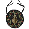 Pineapple Hooked Chair Pad
