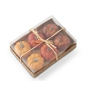 Box of 6 Assorted 2.5 Inch Pumpkins