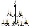 Beacon Hill Wrought Iron Chandelier