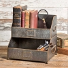 Nameplate Tabletop Caddy with Handles