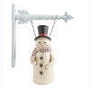 10.75 Inch Resin Snowman w/HoHoHo Scarf Arrow Replacement