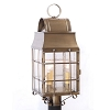 Washington Post Lantern Weathered Brass