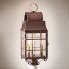 Washington Post Lantern Antique Copper