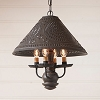 Homespun Shade Light in Espresso with Salem Brick