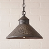 Stockbridge Shade Pendant Light Kettle Black