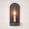 Fireplace Sconce in Textured Black