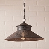 Shopkeeper Shade Pendant Light in Kettle Black