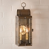 Queen Arch Lantern Weathered Brass