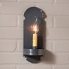 Foot Sconce in Country Tin