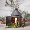 15-Inch Fireside Lantern in Kettle Black