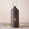 Chimney Tin Lantern with Chisel