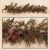 4' Primitive Christmas Garland