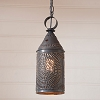 Hanging Pendant Lantern with Chisel