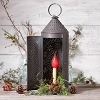 22-Inch Chimney Lantern in Kettle Black