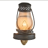 LANTERN WITH GLASS NIGHT LIGHT