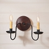 Ashford Wall Sconce in Plantation Red