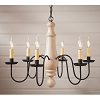 Large Norfolk Chandelier in Sturbridge White