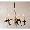 Lynchburg Wood Chandelier in Sturbridge White