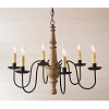 Harrison Wooden Chandelier in Americana Pearwood