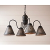 Cambridge Chandelier in Americana Black