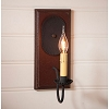 Wilcrest Sconce in Plantation Red