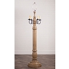 General James Floor Lamp Base Americana Pearwood