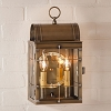 Toll House Wall Lantern Weathered Brass