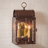Toll House Wall Lantern Antique Copper