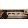 Black Simply Stars Placemat