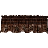Star Patchwork Lined Valance
