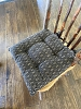 PACKSVILLE ROSE CHAIR PAD BLACK/TAN