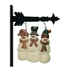 Resin Three Snowmen Buddies Arrow Replacement