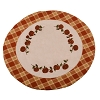 Little Pumpkin Vine Candle Mat Osenburg-Burnt Orange