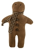 Gingerbread Man With Scarf