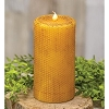 Wrapped Honeycomb LED Pillar