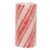 Multi-Stripe Candy Cane Timer Pillar