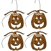 Rusty Jack O Lantern Ornaments