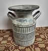 Tin Milk Can with Handles