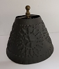 Small Chisel Accent Light Shade Textured Black
