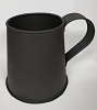 Decorative Mug in Textured Black