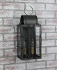 Danbury Medium Wall Lantern Dark Brass