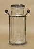 Glass Potpourri Jar-Clear-4