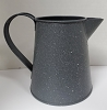 Tin Pitcher Gray
