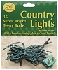 Teeny Lights Green Cord 35ct