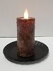 Realistic Moving Flame Votive Dark Brown