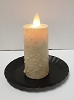 Realistic Moving Flame Votive Ivory