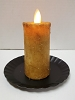 Realistic Moving Flame Votive Mustard