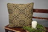 SALEM WEAVE BLACK/TAN PILLOW